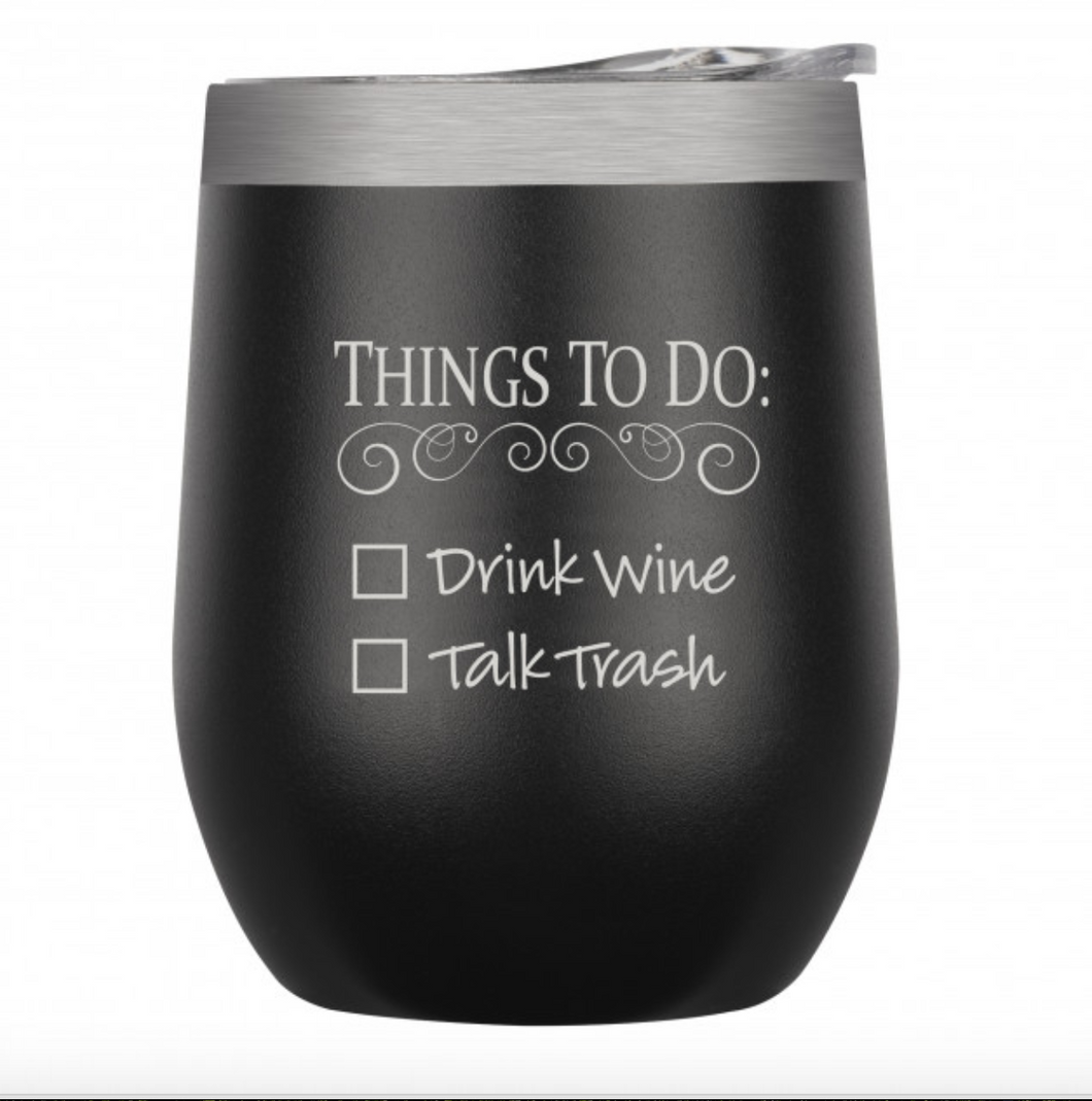 To Do List Tumbler