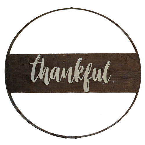 Thankful Wall Hoop