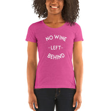 Load image into Gallery viewer, No Wine Left Behind Short Sleeve T-Shirt