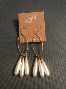 Plunder -Dari Pearl Drop earrings