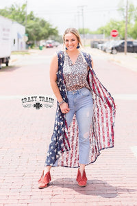 Liberty Lace Reversible Duster