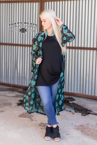 Laynee Lace Duster -