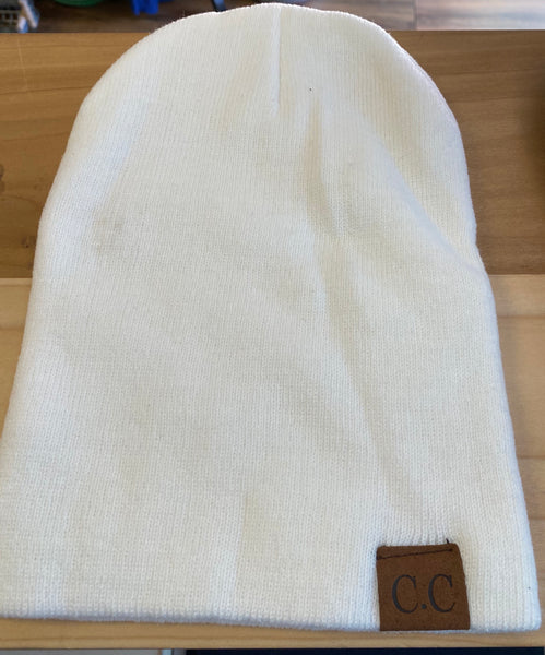 C.C knit beanies-solids