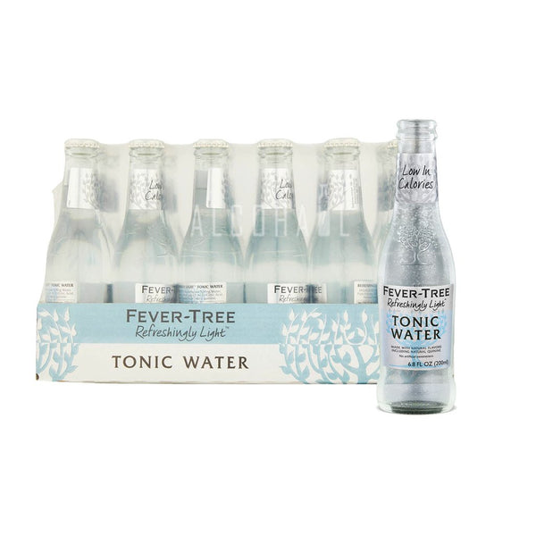 FEVER TREE NATURALLY LIGHT TONIC WATER - Case 24/200ml