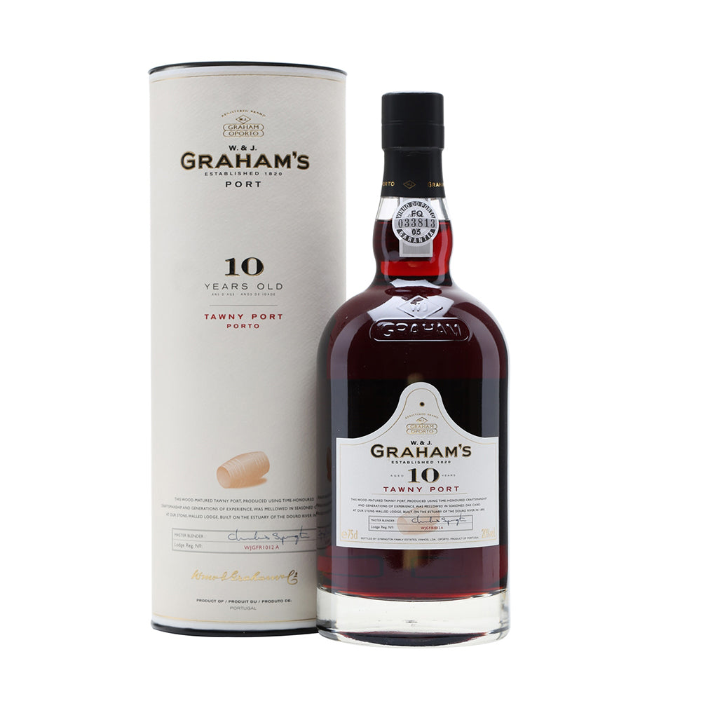 GRAHAM'S 10 YR OLD TAWNY PORT