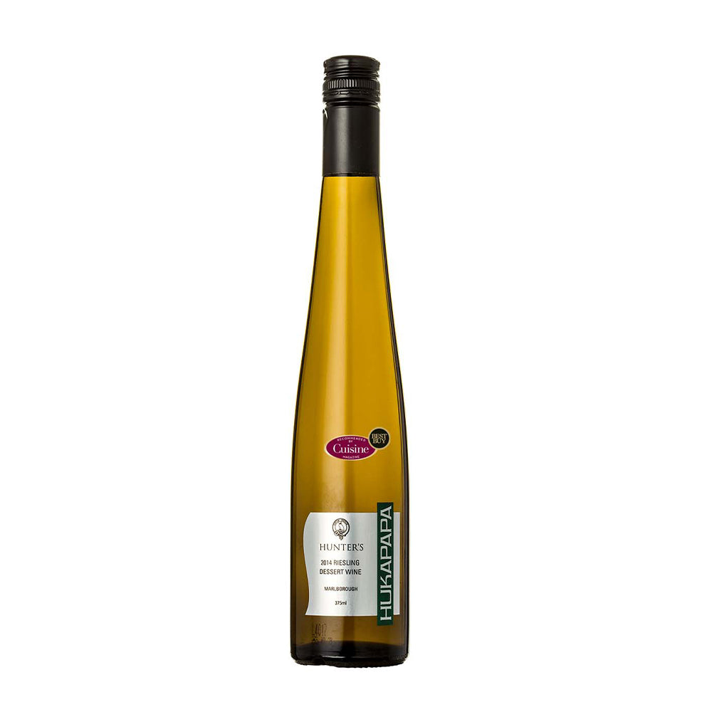 HUNTER'S HUKAPAPA DESSERT RIESLING 2014 375ml