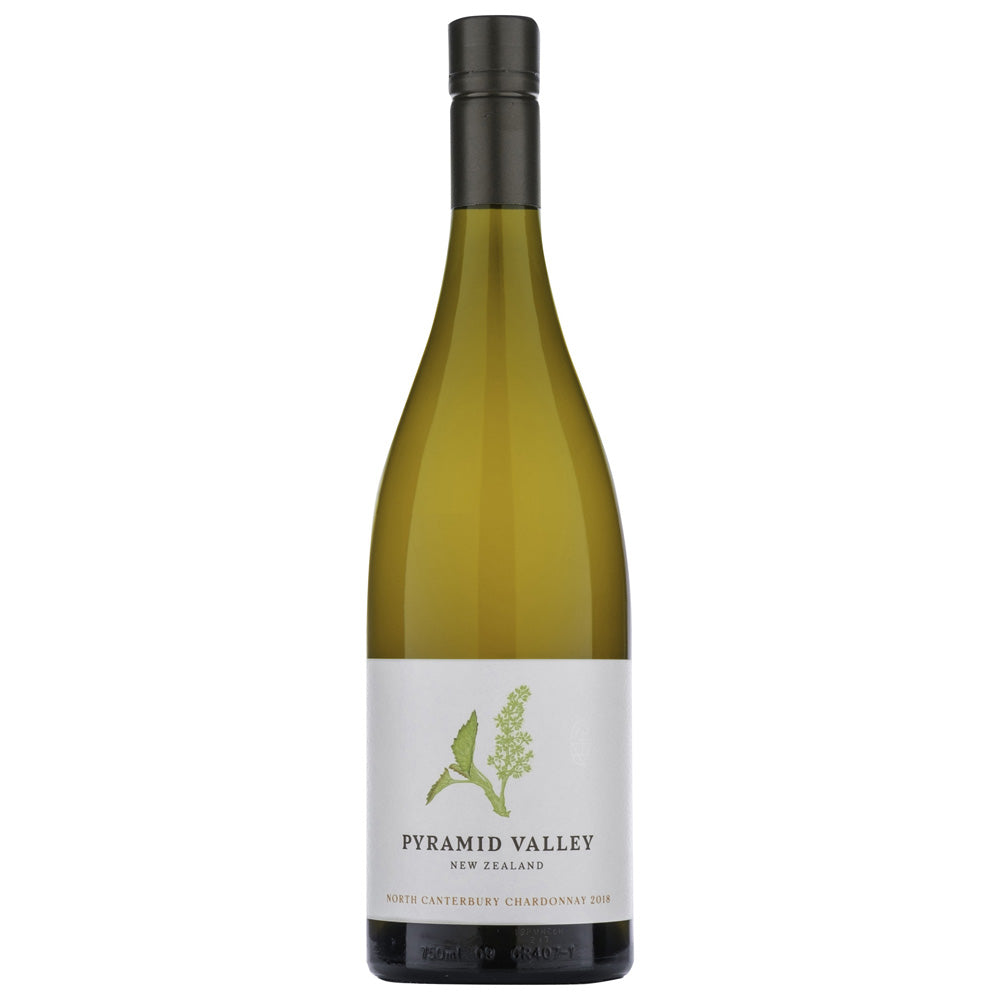 PYRAMID VALLEY NORTH CANTERBURY CHARDONNAY 2018
