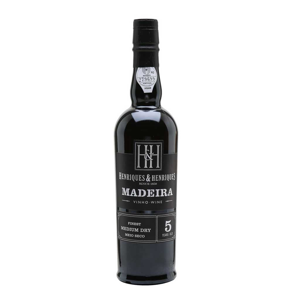 HENRIQUES & HENRIQUES 5 YEAR OLD FINEST DRY MADEIRA 50cl