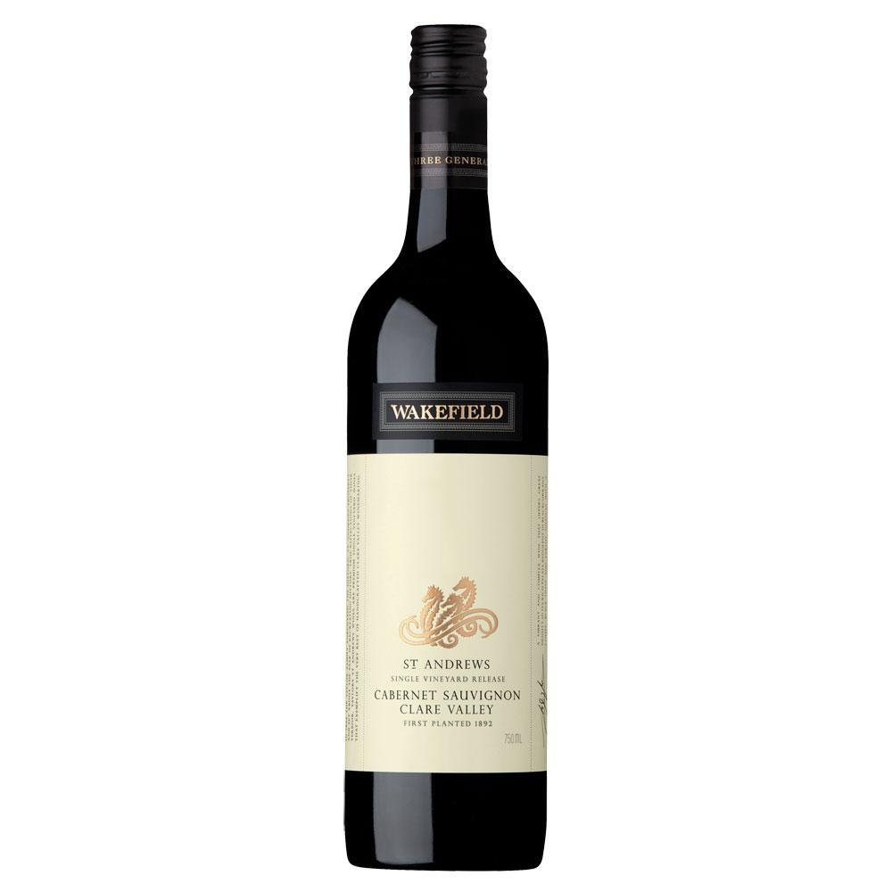 WAKEFIELD ST ANDREWS CABERNET SAUVIGNON 2015