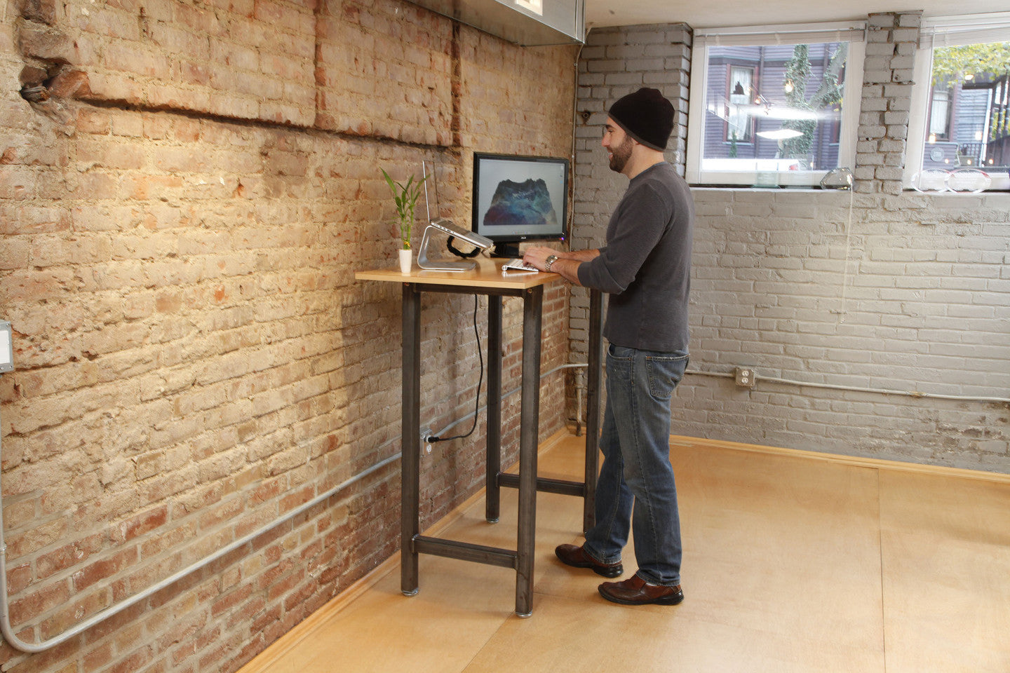 Standing Desk When Not Cycling
