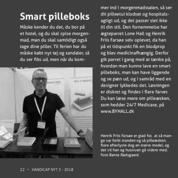 """Smart pilleboks"" - Presseomtale"