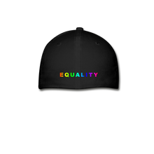 Load image into Gallery viewer, Baseball Cap Rainbow - black