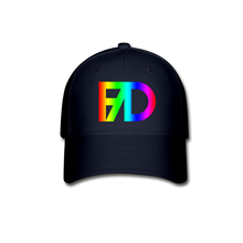 Load image into Gallery viewer, Baseball Cap Rainbow - navy