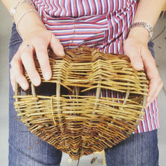 MAKE A SIMPLE FRAME BASKET IN A DAY