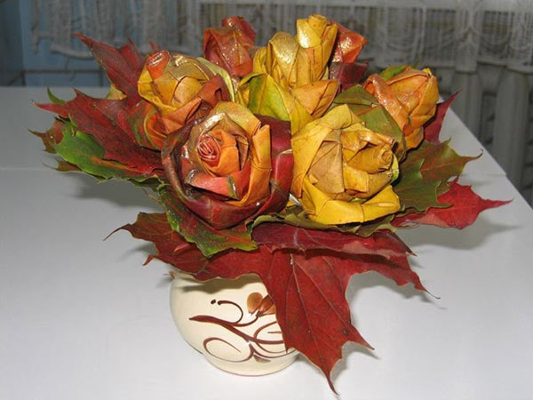 Fall Bouquet - Capturing The Colors of Changing Leaves
