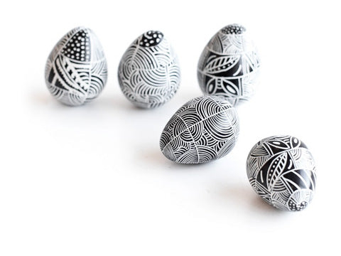Handcrafted Gifts - Hand Carved Soapstone Eggs