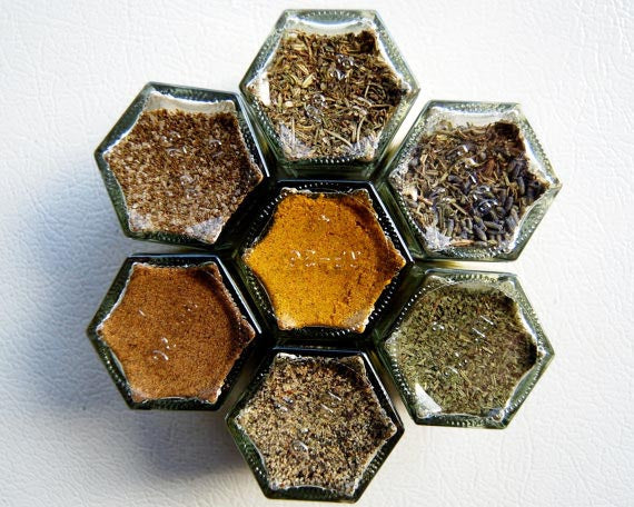 Magnetic Spice Jars by Gneiss Spice