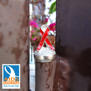 Aids Red Ribbon Door Decor Accessories
