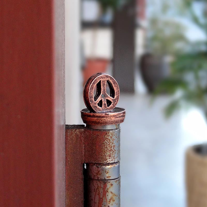 Handcrafted Handcrafted Peace Sign Decor Accessories for Doors Decor Accessories for Doors