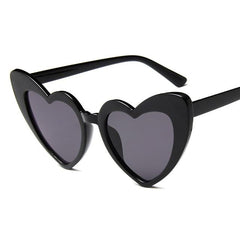 heart shaped glasses black- milly