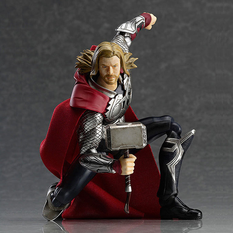 Marvel PVC Toy Figure The Avengers Thor 7''  Action Figure Removable Model Collection Doll Toys Gift
