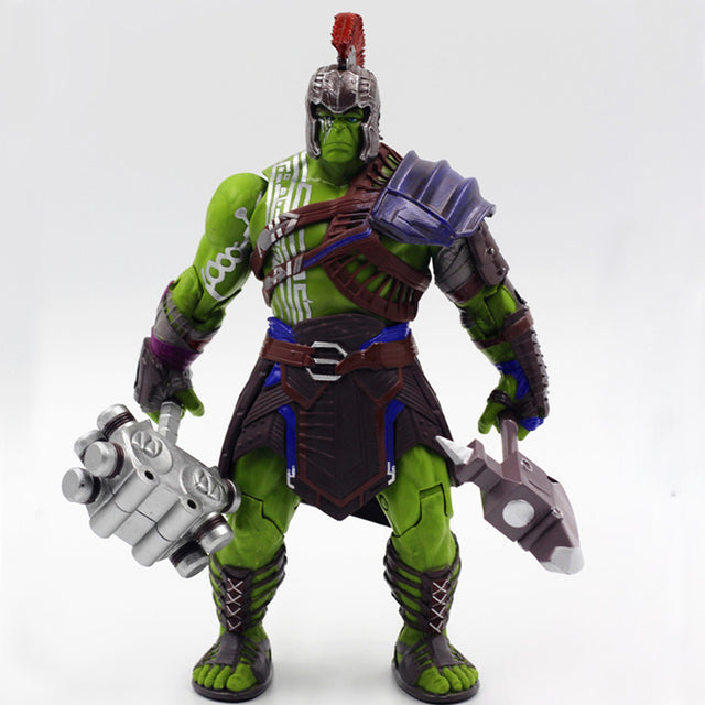 Marvel Hulk PVC Figure Toy Thor 3 Ragnarok Hulk Robert Bruce Banner PVC Action Figure Collectible Model Toy 19cm For Gift