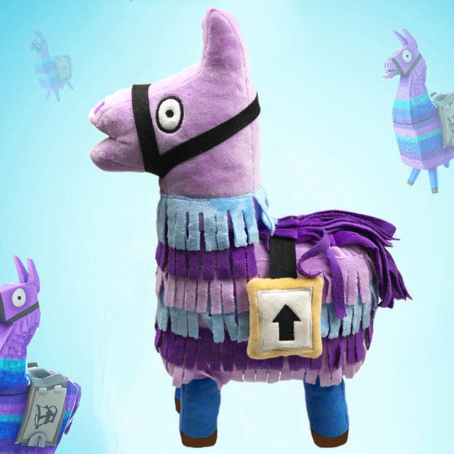 35cm Fortnite Victory Battle Royale Llama Toy Figure Troll Stash Llama Doll Soft Stuffed Animal Plush Toys