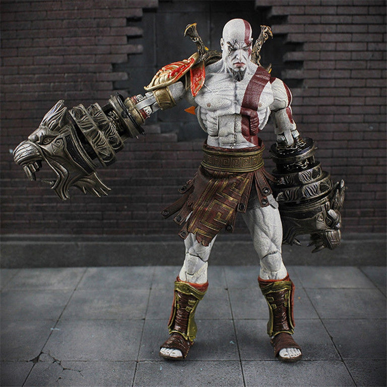 Neca God of War 3 Ultimate Kratos 6 inch Action Figure Collector Toy New PVC Toys Anime Model Christmas Gift