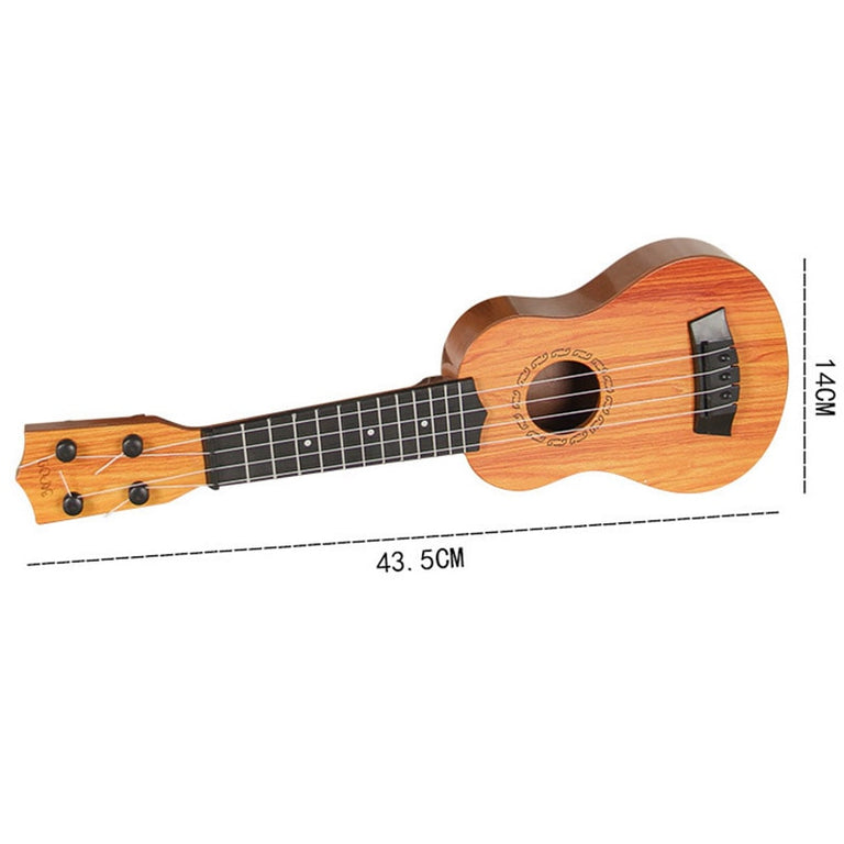Mini ukulele simulation guitar children musical instruments toy education children birthday Christmas gift toys