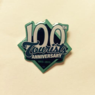 Asheville Tourists 100th Anniversary Lapel Pin
