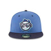 Asheville Tourists Moon Head Alternate