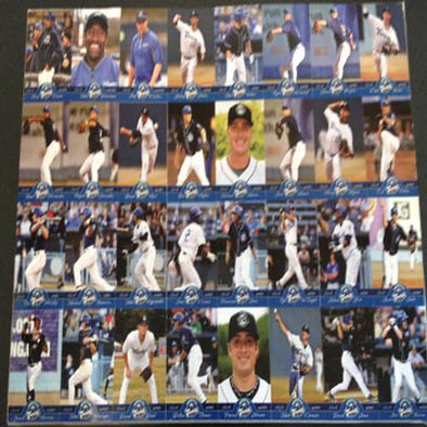 Asheville Tourists 2013 Asheville Tourists Team Set