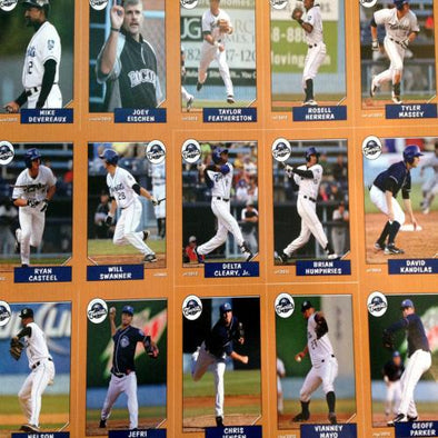 Asheville Tourists 2012 Asheville Tourists Team Set