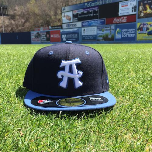 Asheville Tourists Road Game Cap