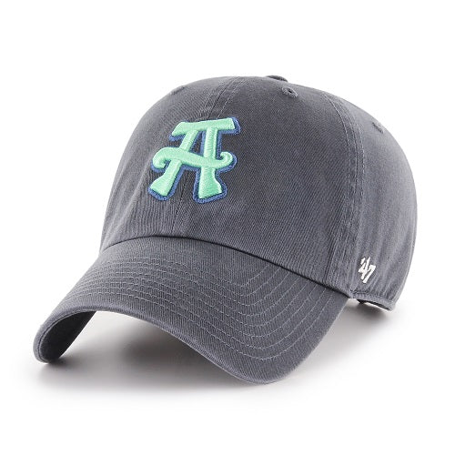 The Asheville Tourists Vintage Navy '47 Clean Up with Jade A Cap