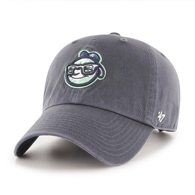 The Asheville Tourists '47 Vintage Navy Moon Head Clean Up Cap