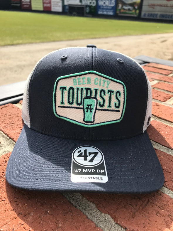 The Asheville Tourists '47 MVP Patch Beer City Cap