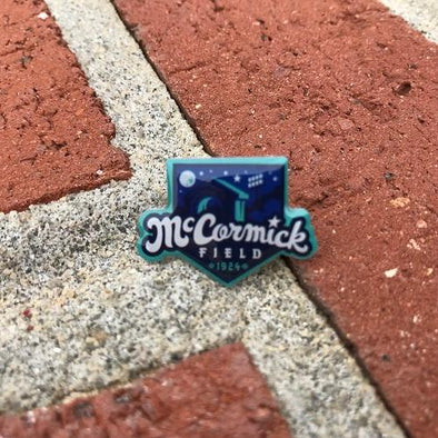 Asheville Tourists McCormick Field Lapel Pin