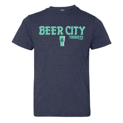 Asheville Tourists Beer City in Navy