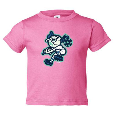 Asheville Tourists Toddler Pink Mr. Moon