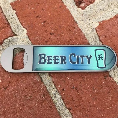 Asheville Tourists Beer City Bottle Opener
