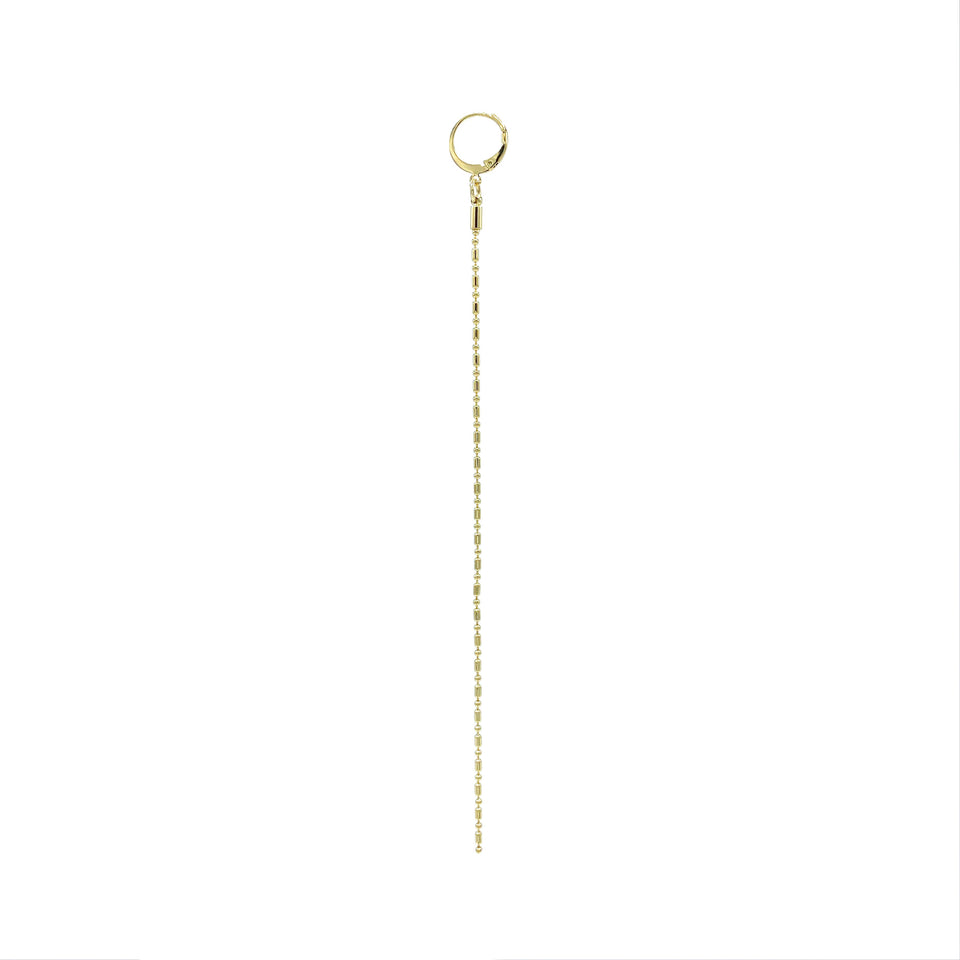 Medium Thin Chain Simple Earring