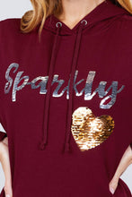Load image into Gallery viewer, Sparkly Sequins Hoodie Pullover