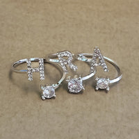 Crystal Initial Ring