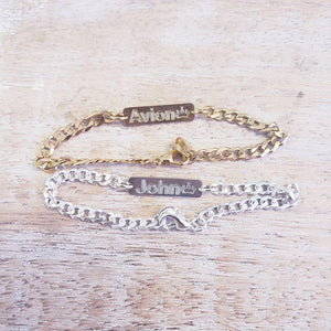 BRAD01- Adult Cuban Chain Bracelet