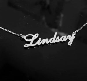 Cursive Personalized Name Necklace