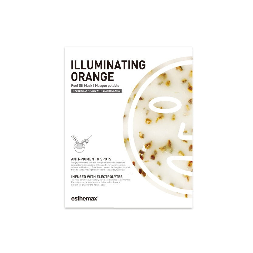 ILLUMINATING ORANGE HYDROJELLY™ MASK - Exquisite Blinks by V.