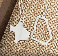 STMP01-State Pendant Necklace