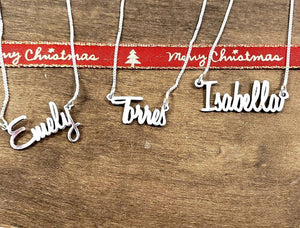 HB01 Bella Personalized Name Necklace