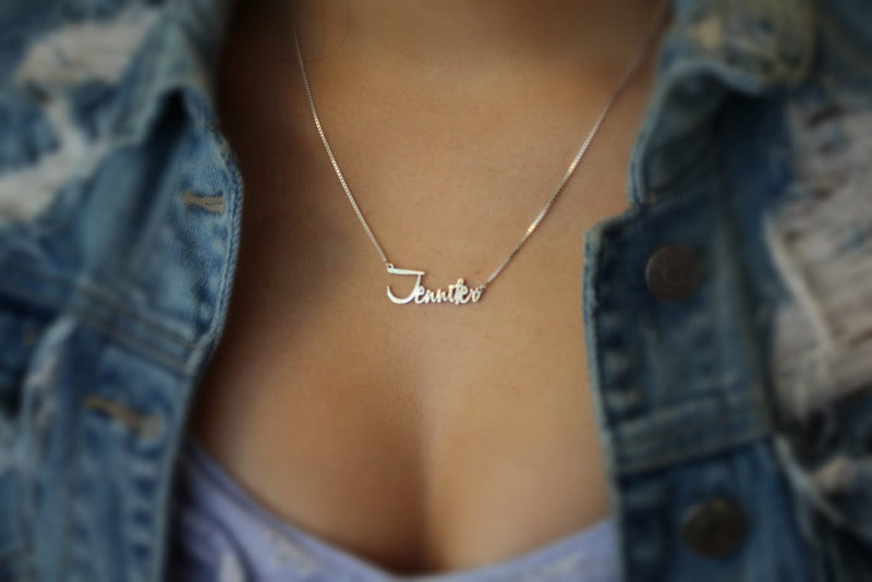 Carmela Name Necklace